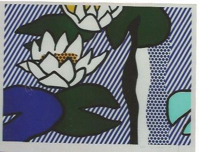 Литография Lichtenstein - Nympheas - Water Lilies