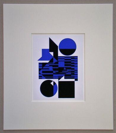 Сериграфия Vasarely - OB - 1956