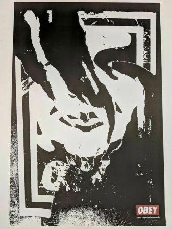 Литография Fairey - Obey (Ripped)