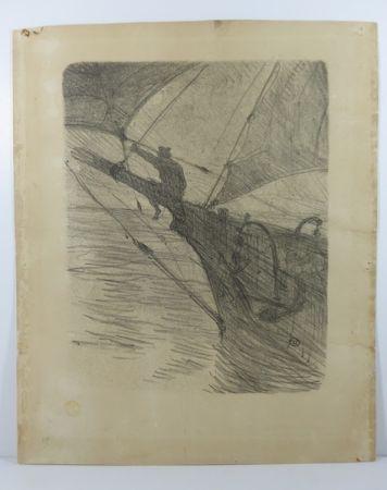 Нет Никаких Технических Toulouse-Lautrec -  Oceano Nox. 1895. 1er état. Numérotée.