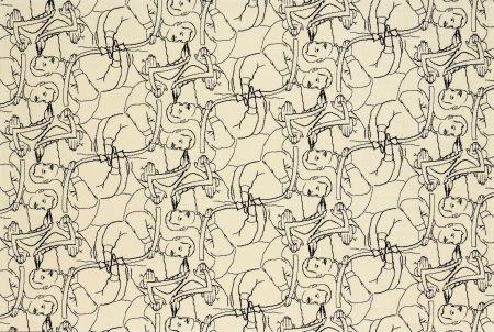 Литография Dheedene - Octopus - White