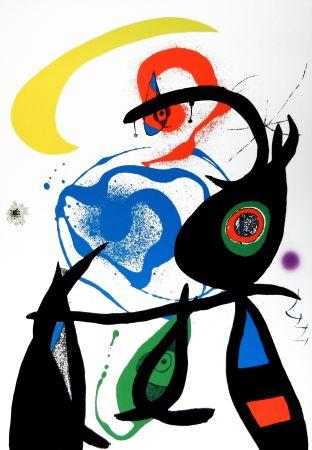 Литография Miró - Oda A Joan Mirò