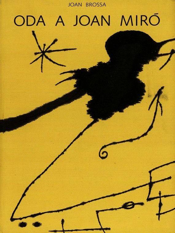 Иллюстрированная Книга Brossa - Oda a Joan Miró
