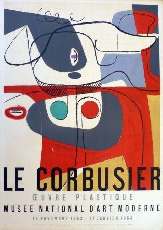 Литография Le Corbusier - Oeuvre Plaastique, Musée National D'art  Moderne De La Ville De Paris