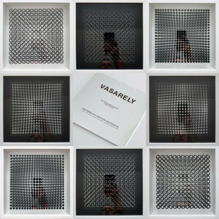 Многоэкземплярное Произведение Vasarely - Oeuvres Profondes Cinetiques