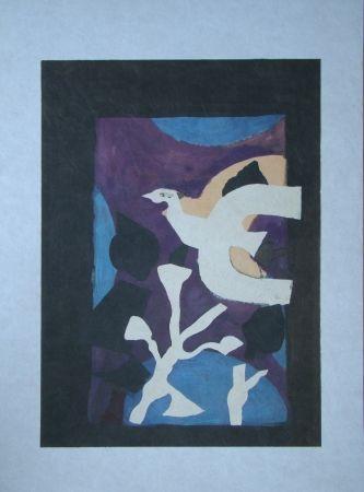 Литография Braque - Oiseau et Lotus. Avant La Lettre