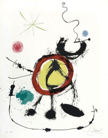 Литография Miró - Oiseau migrateur (Migratory Birds)