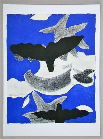 Литография Braque (After) - Oiseaux
