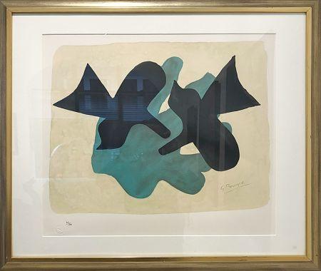 Литография Braque - Oiseaux