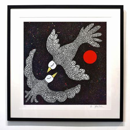Цифровой Эстамп Cavalier - ''Oiseaux Célestes ''