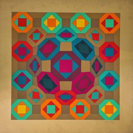 Сериграфия Vasarely - Okta-Or