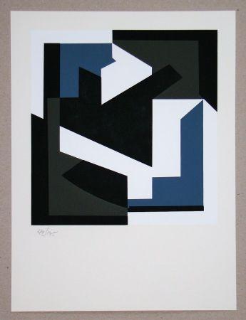 Сериграфия Vasarely - Olbio II.