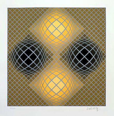 Сериграфия Vasarely - Olla