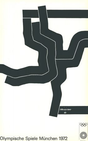Литография Chillida - Olympische Spiele München 1972
