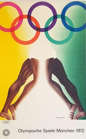 Афиша Jones - Olympishe  Spiele  Munchen  1972