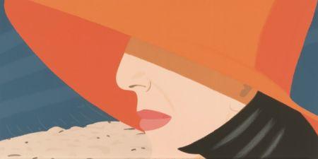 Сериграфия Katz - Orange Hat (Alex and Ada Suite)