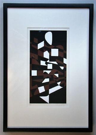 Сериграфия Vasarely - Orchidees