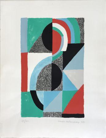 Литография Delaunay - Oriflamme 1967