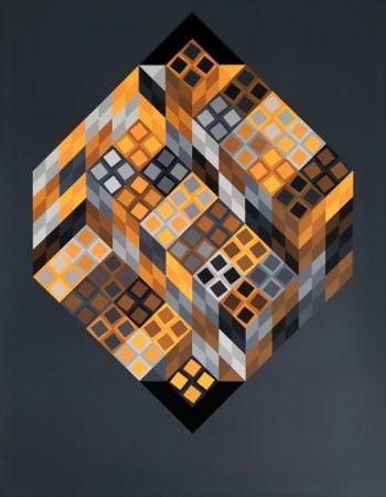 Многоэкземплярное Произведение Vasarely - Orvar,