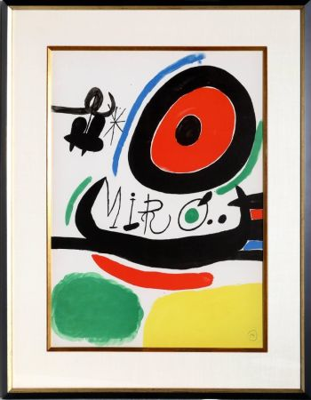 Литография Miró - Osaka Exhibition (M. 680)