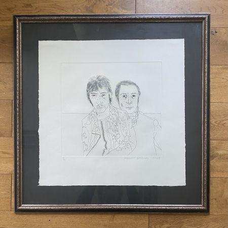 Гравюра Hockney - Ossie and Mo