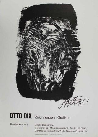 Литография Dix - Otto Dix Zeichnungen - Grafiken
