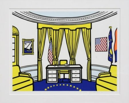 Сериграфия Lichtenstein - Oval Office