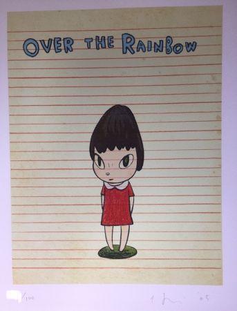 Литография Nara - Over the rainbow