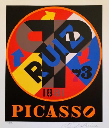 Сериграфия Indiana - Pablo Picasso