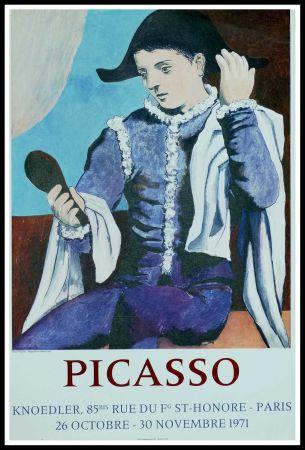 Афиша Picasso - PABLO PICASSO GALERIE KNOEDLER L'ARLEQUIN AU MIROIR