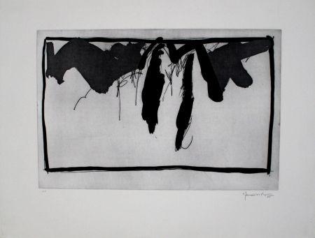 Офорт И Аквитанта Hernandez Pijuan - Paisatge amb xiprers II / Landscape with Cypresses II
