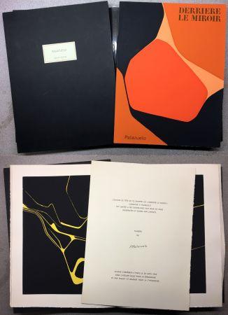 Иллюстрированная Книга Palazuelo - PALAZUELO . DERRIÈRE LE MIROIR n° 137. Avril 1963. TIRAGE DU LUXE SIGNÉ.
