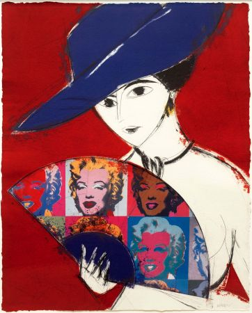 Гравюра Valdés - Pamela I (Warhol)