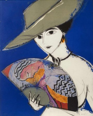 Офорт И Аквитанта Valdés - Pamela III - Chagall