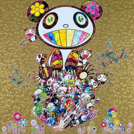 Гашение Murakami - Panda Family Gold