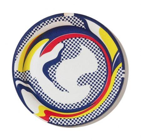 Сериграфия Lichtenstein -  Paper Plate