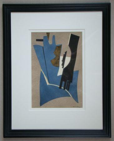 Трафарет Magnelli - Papier collé, 1948