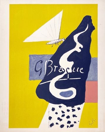 Литография Braque - Papillon