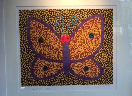 Сериграфия Kusama - Papillon1