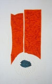 Гравюра Bourdin - Par la fênetre