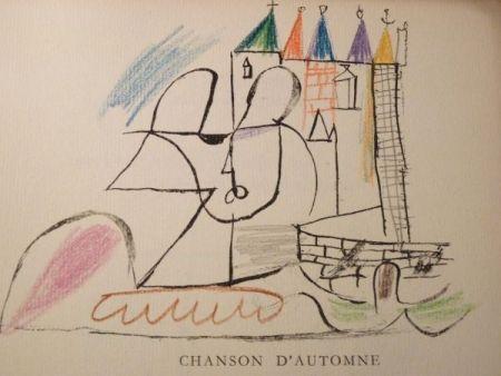 Иллюстрированная Книга Roux - Par Robert Ganzo. Avec vingt-trois lithographies rehaussées de couleurs de Gaston-Louis Roux.
