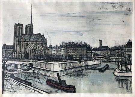 Трафарет Buffet - Paris - Notre-Dame et la Cité