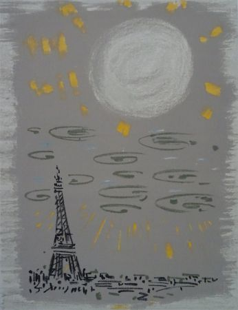 Литография Masson - Paris: La Tour Eiffel