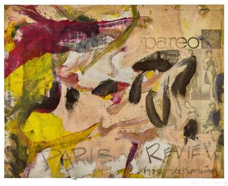 Литография Kooning - Paris Review
