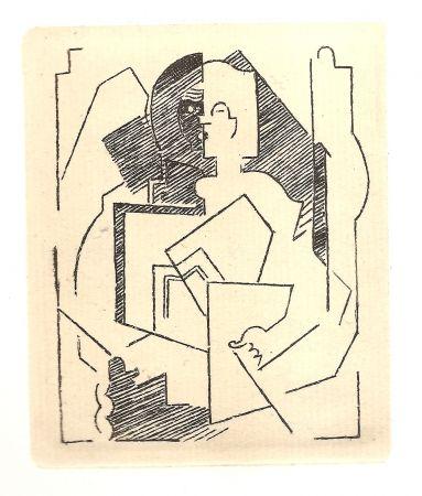 Гравюра Gleizes - Pascal.  Pensées sur l'homme et Dieu (restrikes of 22 etchings)