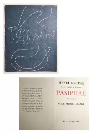 Иллюстрированная Книга Matisse - Pasiphae - Livret de présentation en reproduction