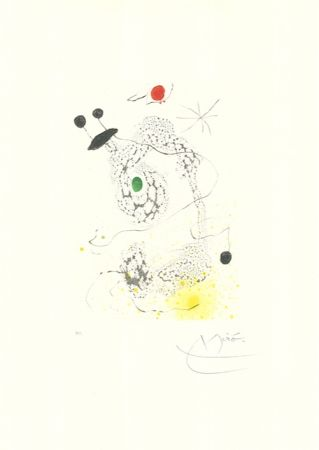 Акватинта Miró - Passacaille
