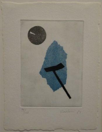 Акватинта Paolucci - 'Passaggio', Werke aus den Jahren 1973 bis 1983
