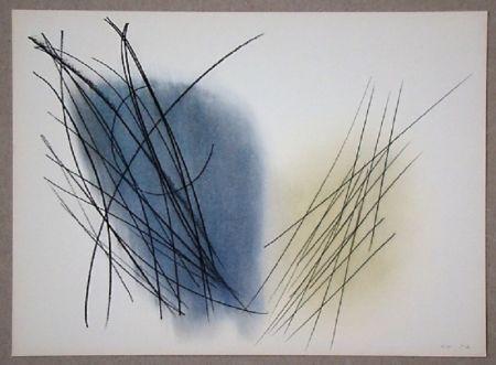 Гашение Hartung - Pastel P. 1957-31