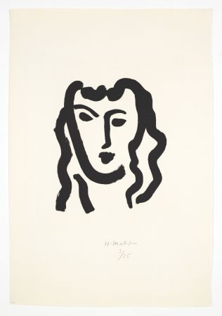 Акватинта Matisse - Patitcha. Masque